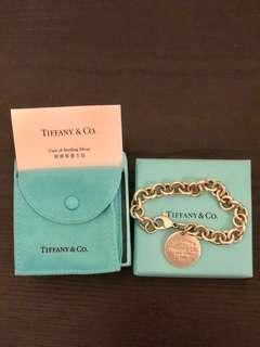 Tiffany 手鏈; 有盒