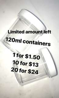 Screw cap containers