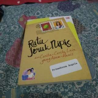 novel ratu jeruk nipis by primadonna angela #horegajian