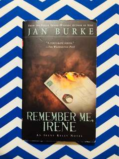 Remember Me, Irene (Jan Burke)