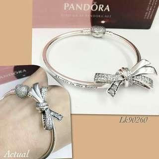 Pandora Bow Bangle