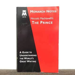 The Prince by Niccolo Machiavelli (study guide)