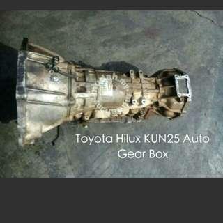 Toyota Hilux kun25 A/T @M/T