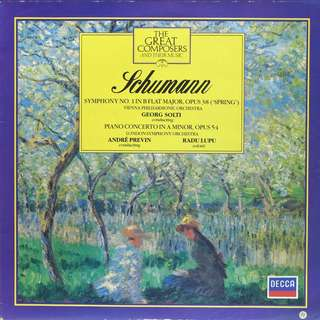schumann Vinyl LP used, 12-inch, may or may not have fine scratches, but playable. NO REFUND. Collect Bedok or The ADELPHI.