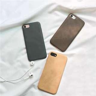 🚚 預購-iPhone手機殼 皮質軟殼