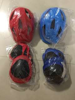 Kids helmet knee guard elbow guard wrist guard