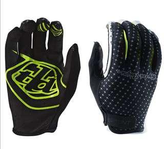 🆕! Troy Lee Designs XC Enduro Downhill Sprint Black Full Finger Gloves    #OK