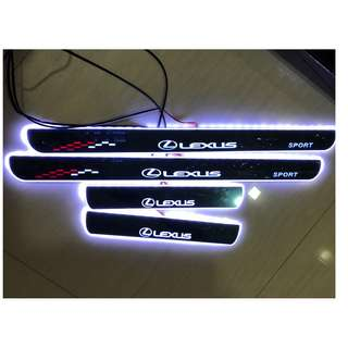 Lexus IS / ES / GS / CX LED Animated Door Scuff Plates