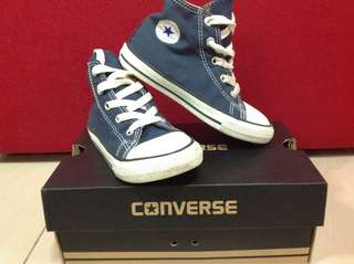 Used CONVERSE 9/10 INFANT C/T ALLSTAR NAVY
