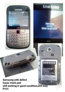 Samsung (defective) repriced!!