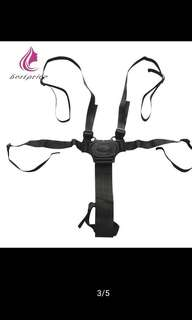 NEW! Baby Stroller Safety belts - 5 Strap Point Harness