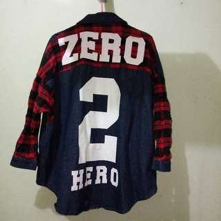 ZERO2HERO Oversized Button Down