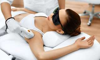 Laser hair removal Only $40.00 +tax.