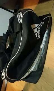 Authentic Adidas black gym bag