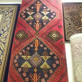 Runner handmade afghan