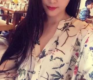 🚚 Tiffany衣櫃 正品zara襯衫 質感襯衫 XS 穿ㄧ次