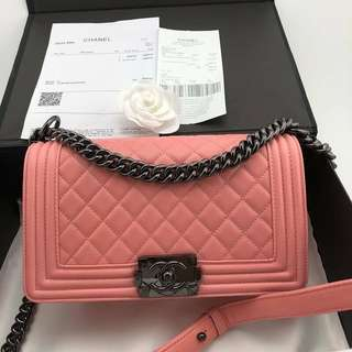 Chanel Le Boy Nude Pink (Perfect Grade)