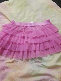 Rok baby doll pink