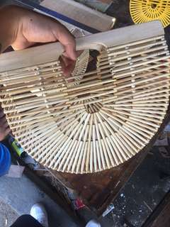 Tas bambu