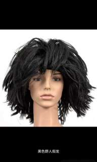 unisex hair wig caveman beggar dinner and dance