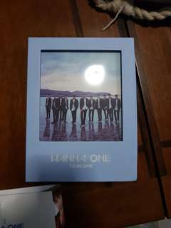 Wanna One Album 'To Be One' Blue ver