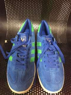 Adidas Hamburg Blue Green Original