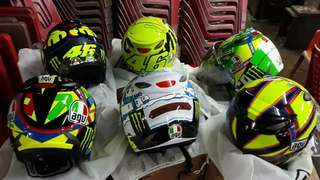 agv helmet replica NEW ready stock preorder  pm me 0125681759