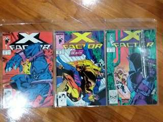 Marvel - X Factor #33 to #35 & #42 to #47