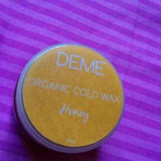 Deme Organic Cold Wax Honey 200g