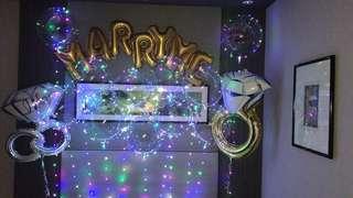 Wedding led balloon
