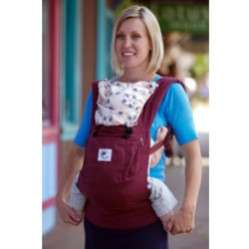 Baby Carrier Ergobaby Organic Cranberry