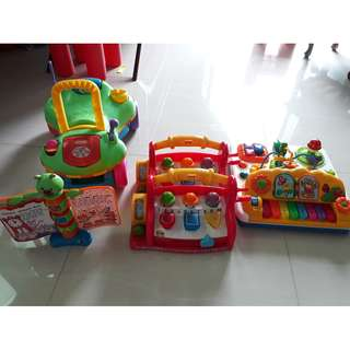 Assorted Toys Toddlers and young children