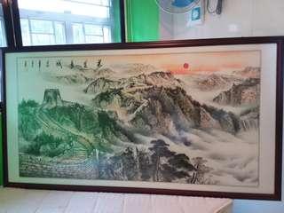中國萬里長城畫 (超大幅)