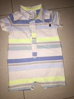 Baby B Gosh Shirt Romper