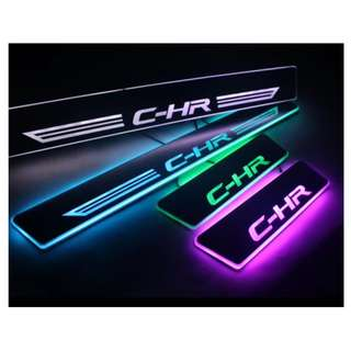 Toyota CH-R LED Animated Door Scuff Plates