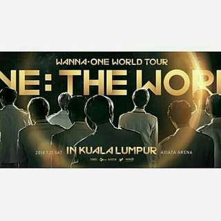 WANNA ONE CONCERT TICKET BUYING SERVICE