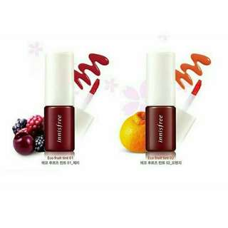 🌿 Innisfree Eco (vivid) Fruit Tint