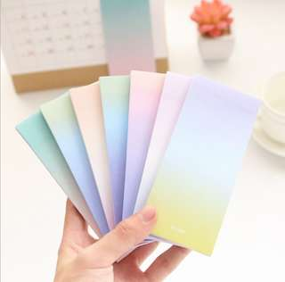 Candy Colour Sticky Notes