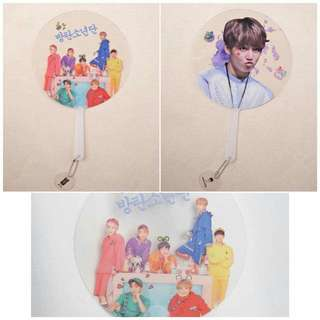[PREORDER] BTS Transparent Hand Fan