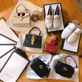 Gucci 袋 Gucci 鞋 Gucci 銀包