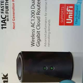 Wireless Router D-Link AC1200 Dual Band