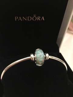 Pandora Bangle with Charm