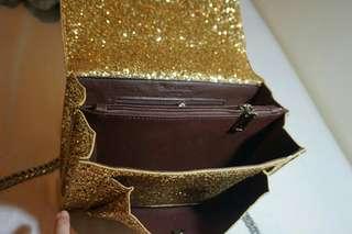 Ysl sequinned handbag