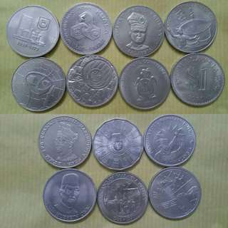 ℹComplete Set Of Malaysia $1 Commemorative