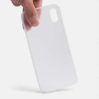 Thin Iphone X frosted clear case