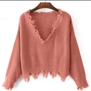 Zaful sweater (pink)
