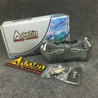Adelin 4 piston 4 pot 100mm universal brake caliper