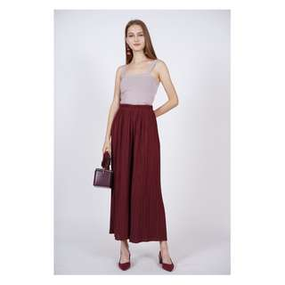 BNWT Mds Pleated Pants Culottes
