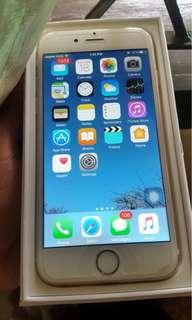 Iphone 6 - 32 Gb - warna gold
