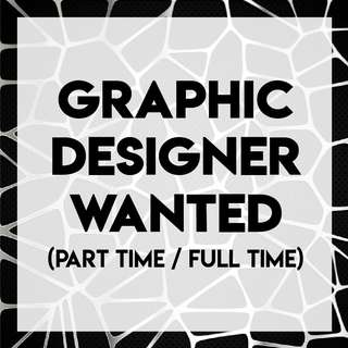 Part-time/ ad hoc home based Graphic designer executive